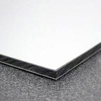 Support métallique : Dibond aluminium 3mm