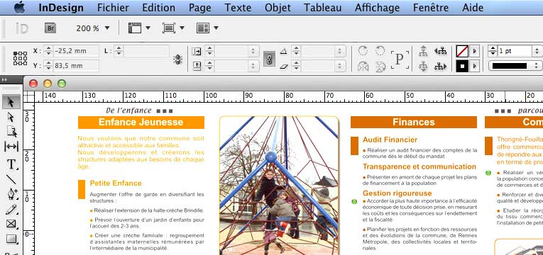 Document InDesign